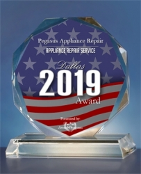 Pegasus Appliance Repair Receives 2019 Dallas Award