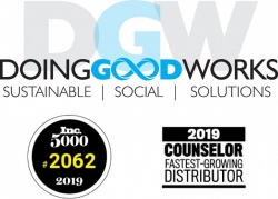 Doing Good Works, a Promotional Merchandising Company with the Mission to Change Outcomes for Foster Youth, Makes the INC. 5000 List