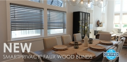 BlindAndScreen.com Announces Availability of Cordless Faux Wood Blinds