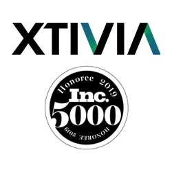 For the 2nd Time, XTIVIA Appears on the Inc. 5000, Ranking No. 4060 with Three-Year Revenue Growth of 79 Percent