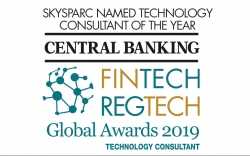 SkySparc Named Technology Consultant of the Year in Central Banking's FinTech Awards 2019