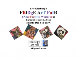 Eric Ginsburg's Fridge Art Fair Miami The Fridge Farewell Victory World Tour