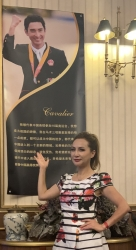 Philanthropist, Fashion Icon, Lily Lisa Attends Celebration of Olympian 1st Gentleman of China, Alex Hua, in Beijing