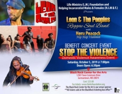 Actor/Singer Leon is Coming to the DMV - Stop the Violence Benefit Concert with His Award Winning Band Leon and the Peoples