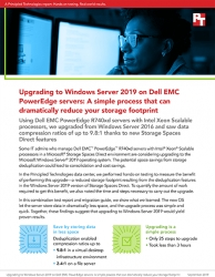 Principled Technologies Releases Study Assessing the Capacity Impact of Upgrading to Windows Server 2019 from an Older Version on Dell EMC PowerEdge R740xd Servers