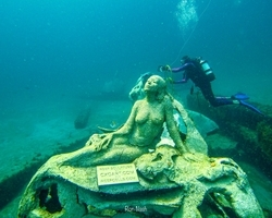 1000 Mermaids Project Adds to Palm Beach County's Cache of Artificial Reefs with Deployment of 18 Sculptures