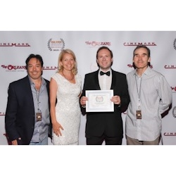 """Arek Zasowski Wins Best Inspirational Short Award with """"Let Go: The Prelude"""" at the 2019 Silver State Film Festival in Las Vegas, NV"""