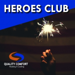 "Local HVAC Contractor ""Heroes Club"" Provides Free Services to Community"