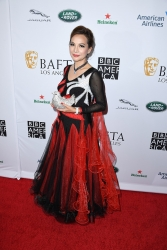 Lily Lisa, Fashion Icon, Debuts Her Lily Lisa Brand, Attending the BAFTA Los Angeles + BBC America TV Tea Party at the Beverly Hilton Hotel in Beverly Hills