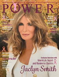 POWER Magazine for Professional Women Features Celebrities Jaclyn Smith and Suzanne Somers in Their Fall 2019 Issue Honoring Breast Cancer Awareness Month