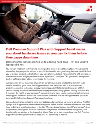 Principled Technologies Tests Predictive Capabilities of Laptops with Dell ProSupport Plus and Premium Support Plus, Both with SupportAssist Technology
