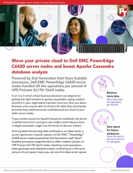 Organizations Running Data Analysis in Their Private Clouds Can Benefit from Current-Generation Dell EMC PowerEdge C6420 Server Nodes, Principled Technologies Finds