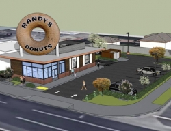 World Famous Randy's Donuts Announces Opening in Downey, CA with Free Donuts and Free Coffee