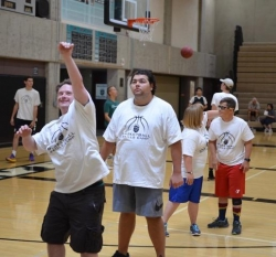 3rd Annual Basketball Skills Clinic for Special Needs Players Held at Aliso Niguel High School