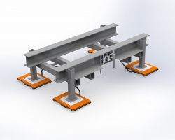 Integrated Air Bearings From AeroGo Make Machinery Hover: Reposition, Relocate, Reconfigure on the Fly