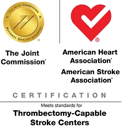 Sky Ridge Medical Center Awarded Thrombectomy-Capable Stroke Center Certification from The Joint Commission