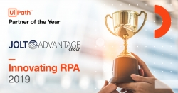 JOLT Advantage Group Wins 2019 UiPath Partner of the Year Award