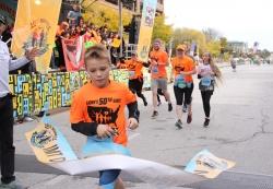 11 Year Old Breaks World Record – Finishes the 50 States Half Marathon Challenge(TM)
