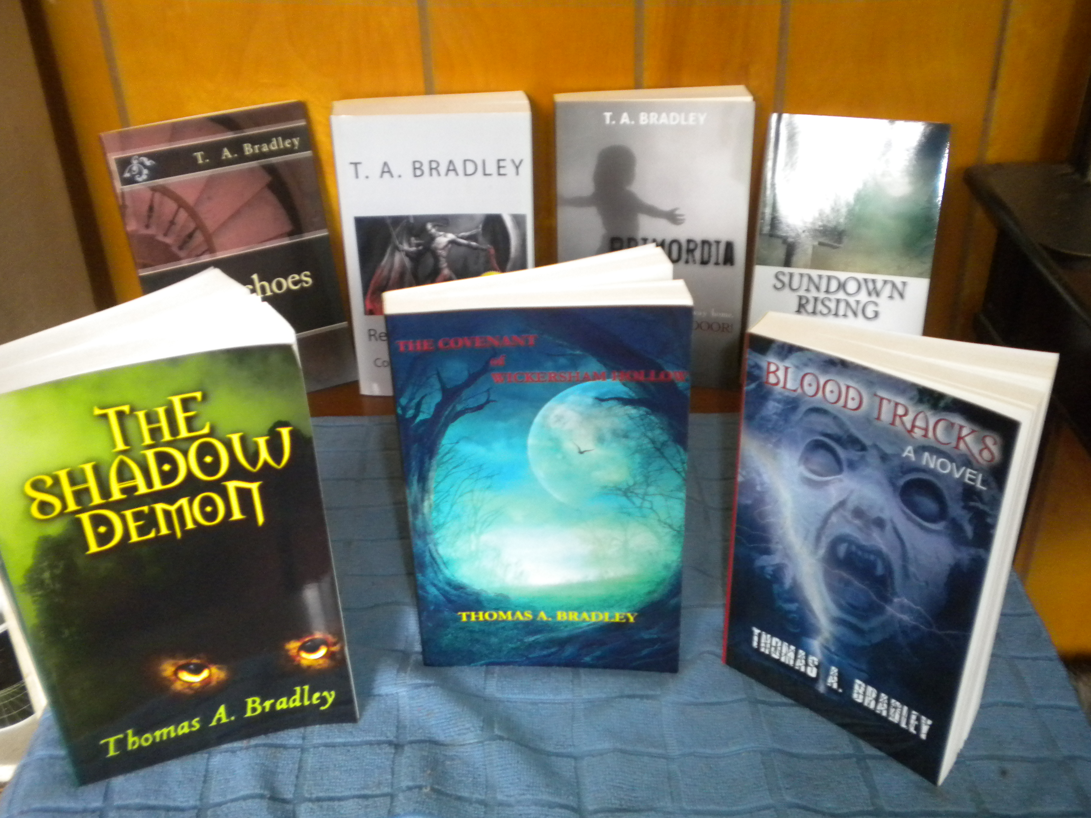 Barren Hill Publishing and Thomas A. Bradley Announce the Availability of All of His Horror Novels on Amazon.com for the Holiday Season