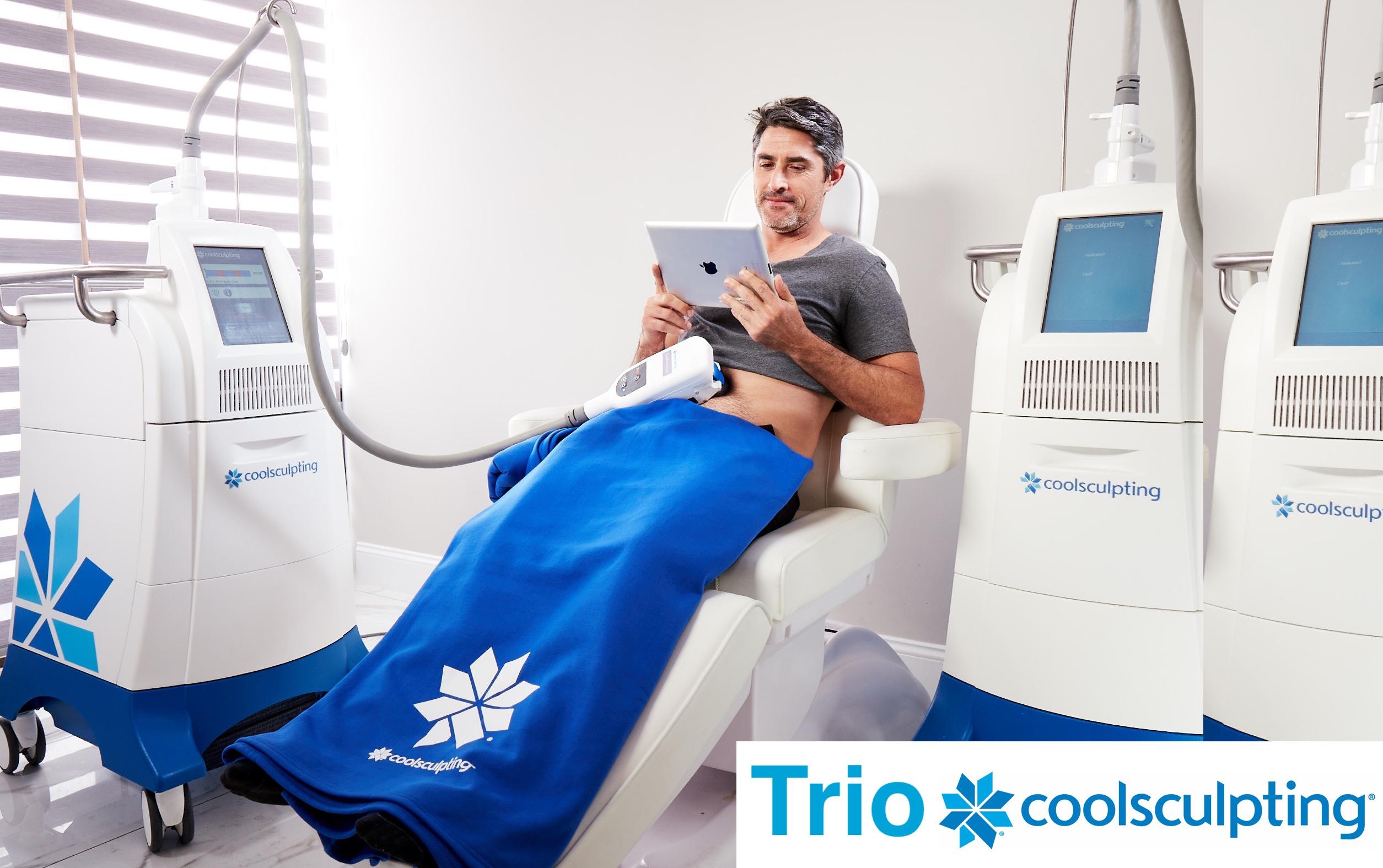 CoolSculpting Las Vegas Clinic Introduces Trio Coolsculpting