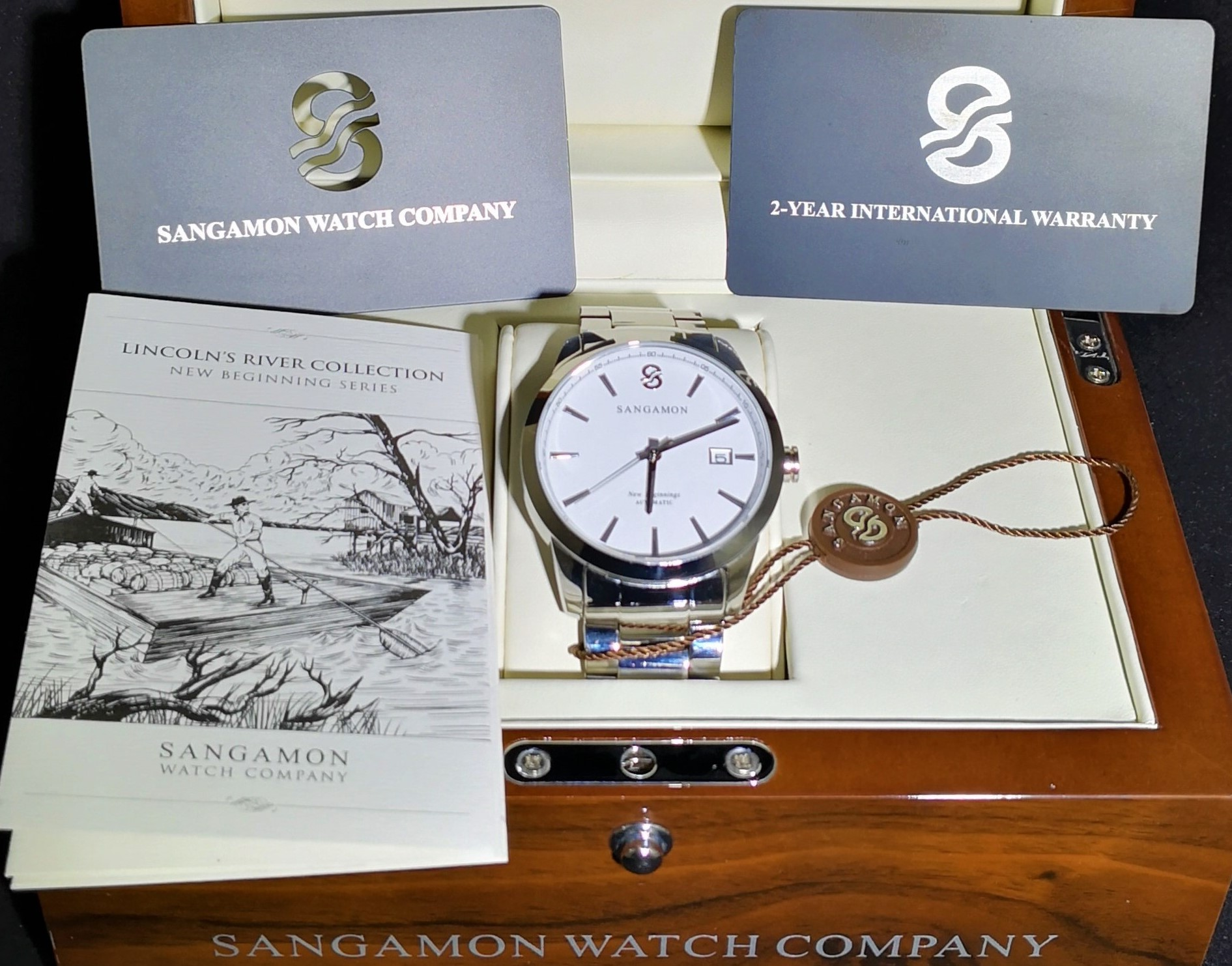 Sangamon Watch Company Announces the Launch of Their American Heritage Watches