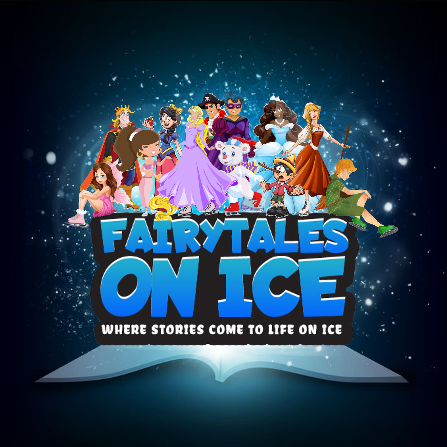 New Family Ice Show Brand Tours the USA