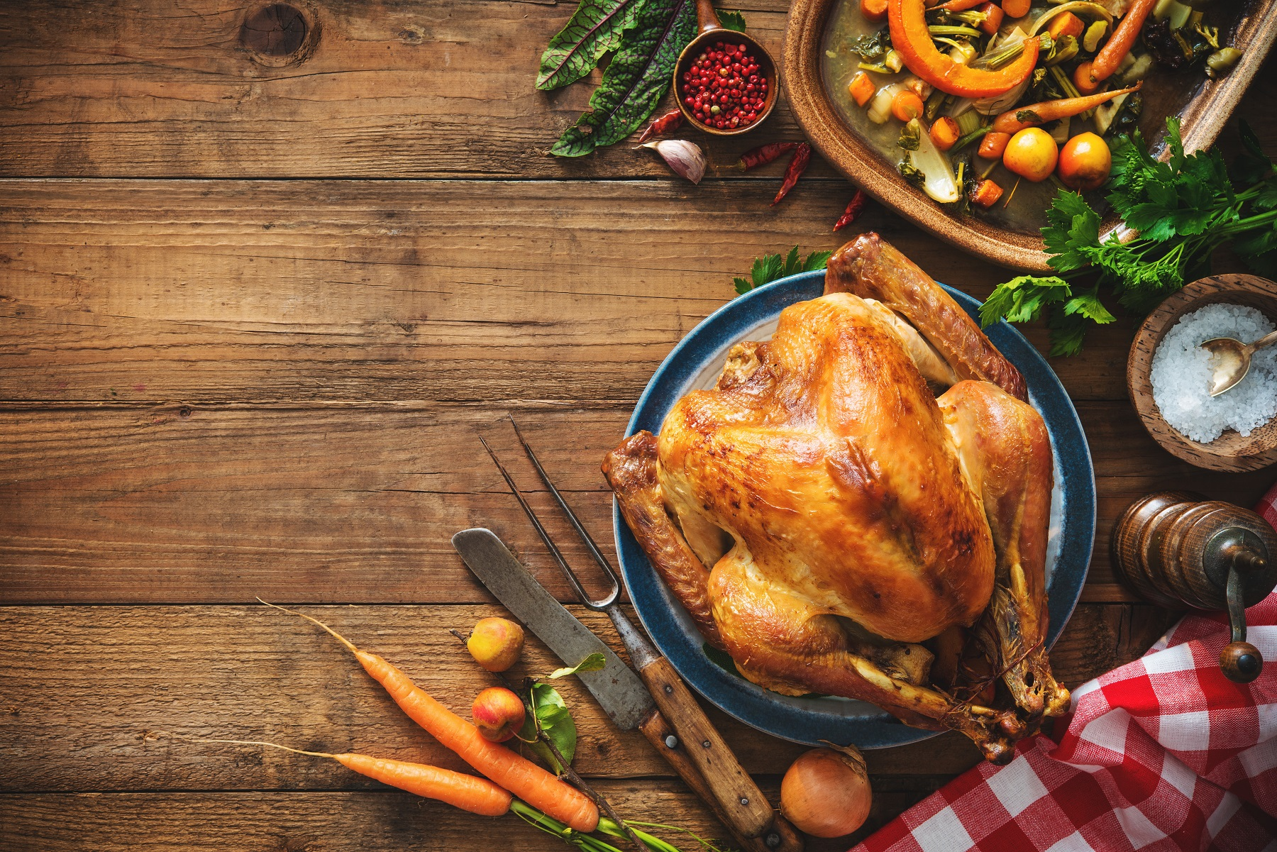 Thanksgiving Feast & Smoked Turkeys to Go at Weber Grill Restaurant
