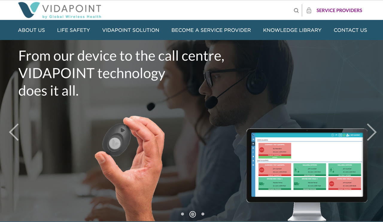 Vidapoint Takes Personal Emergency Response Worldwide