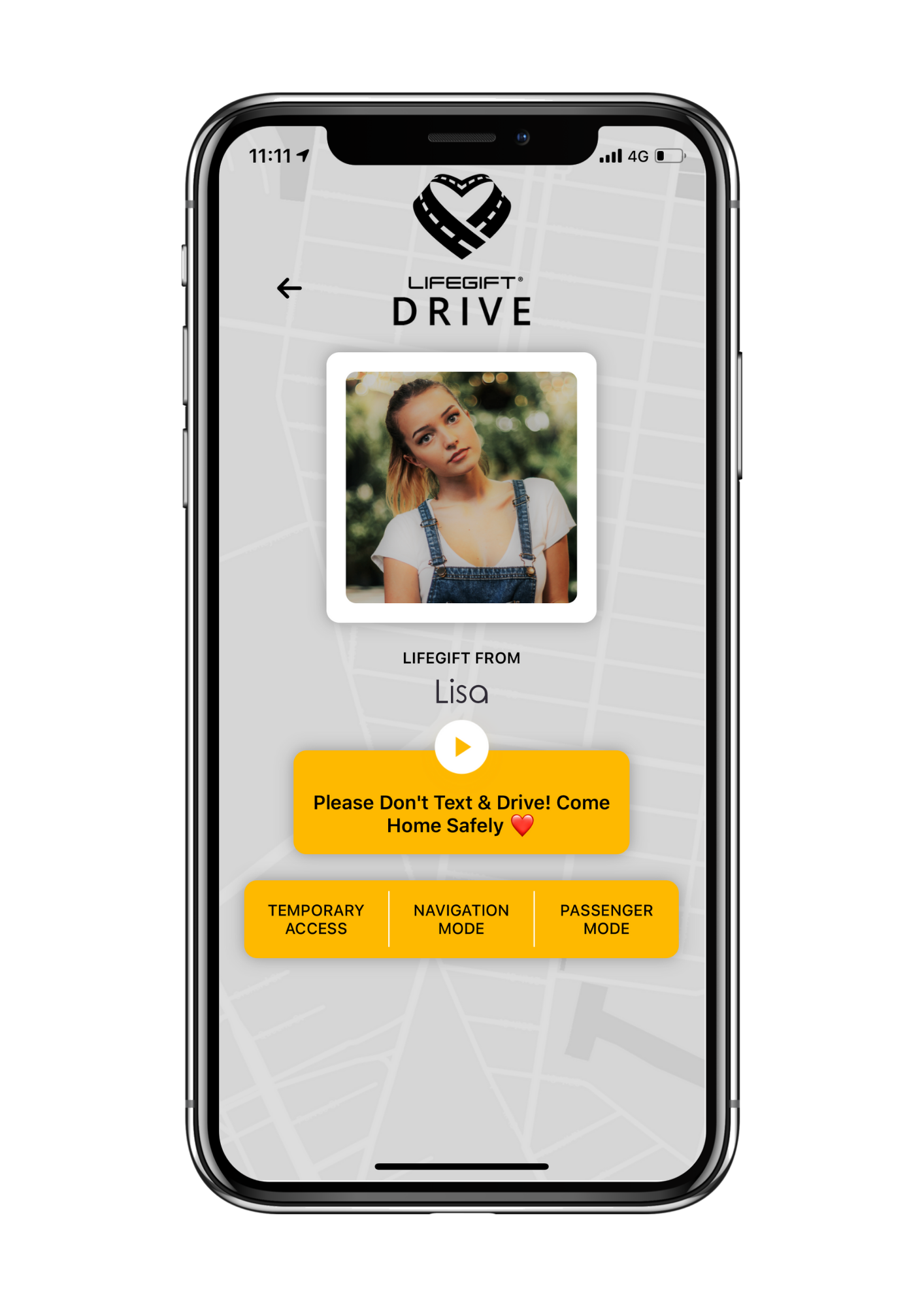 LifeGift® DRIVE: Smartphone Distraction Alert System for Drivers & Pedestrians