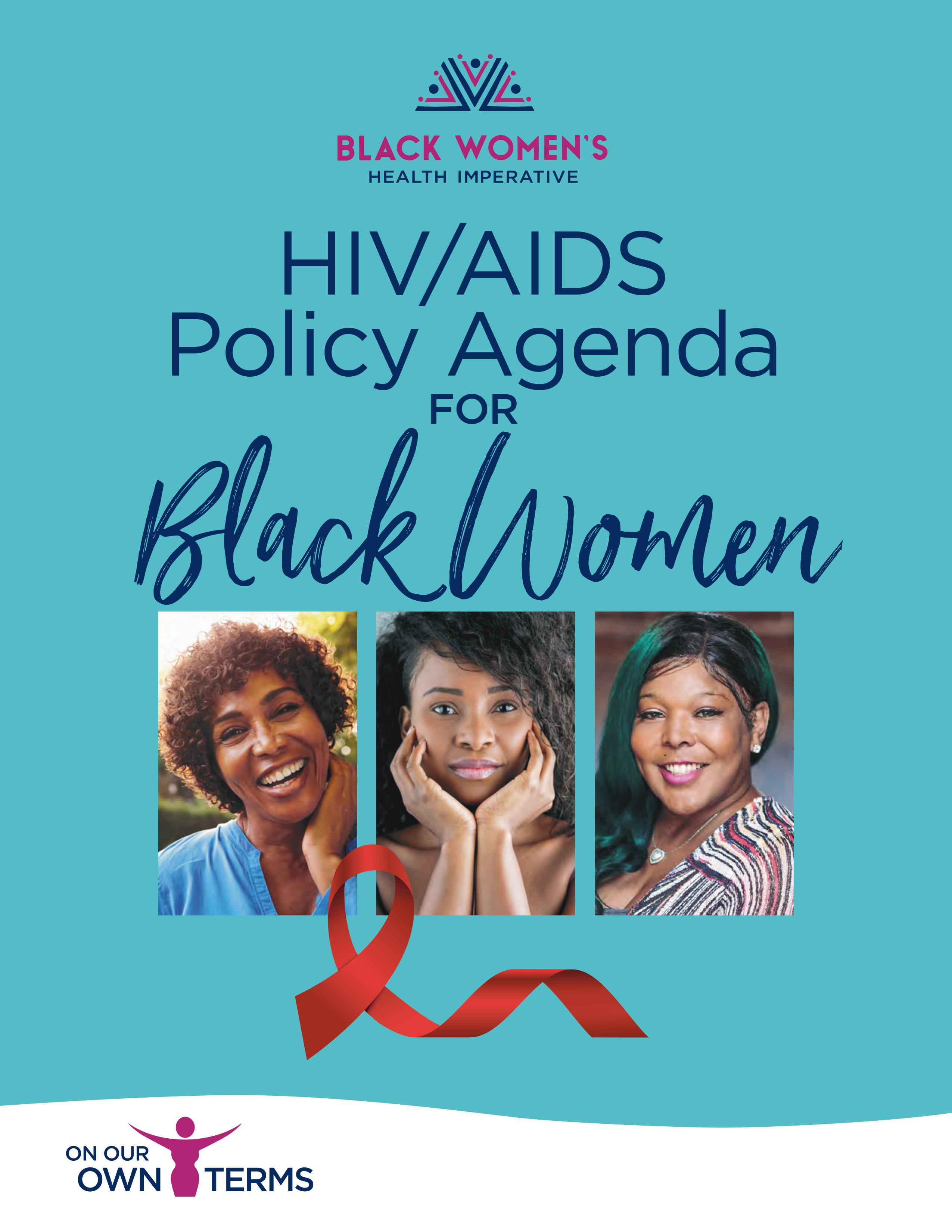 The Black Women's Health Imperative Unveils First-Of-Its-Kind Policy Agenda Addressing HIV/AIDS Epidemic Among Black Women