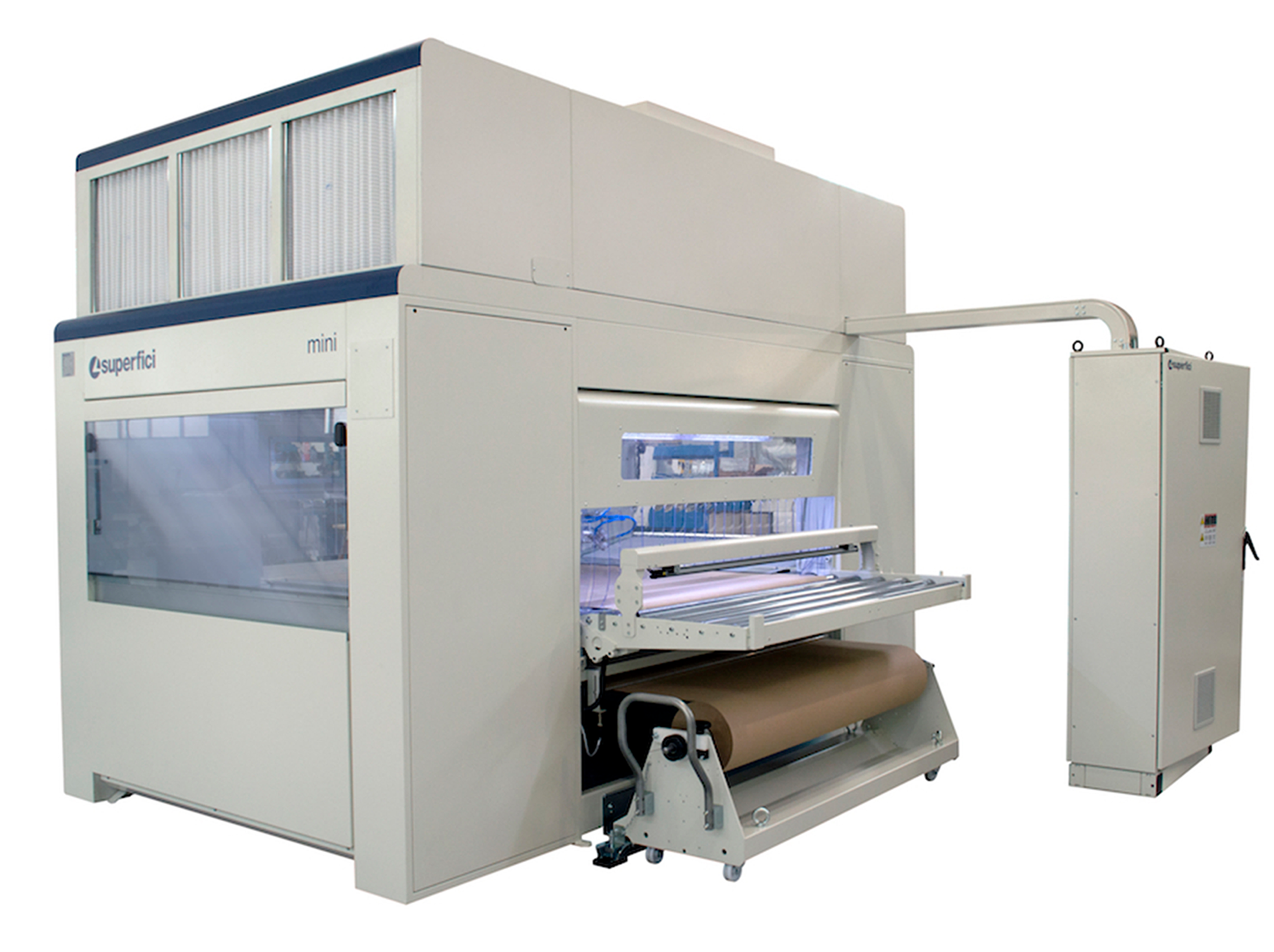 The Mini Plus Evolution from Superfici America is the Next Evolution in Automated Spray Finishing
