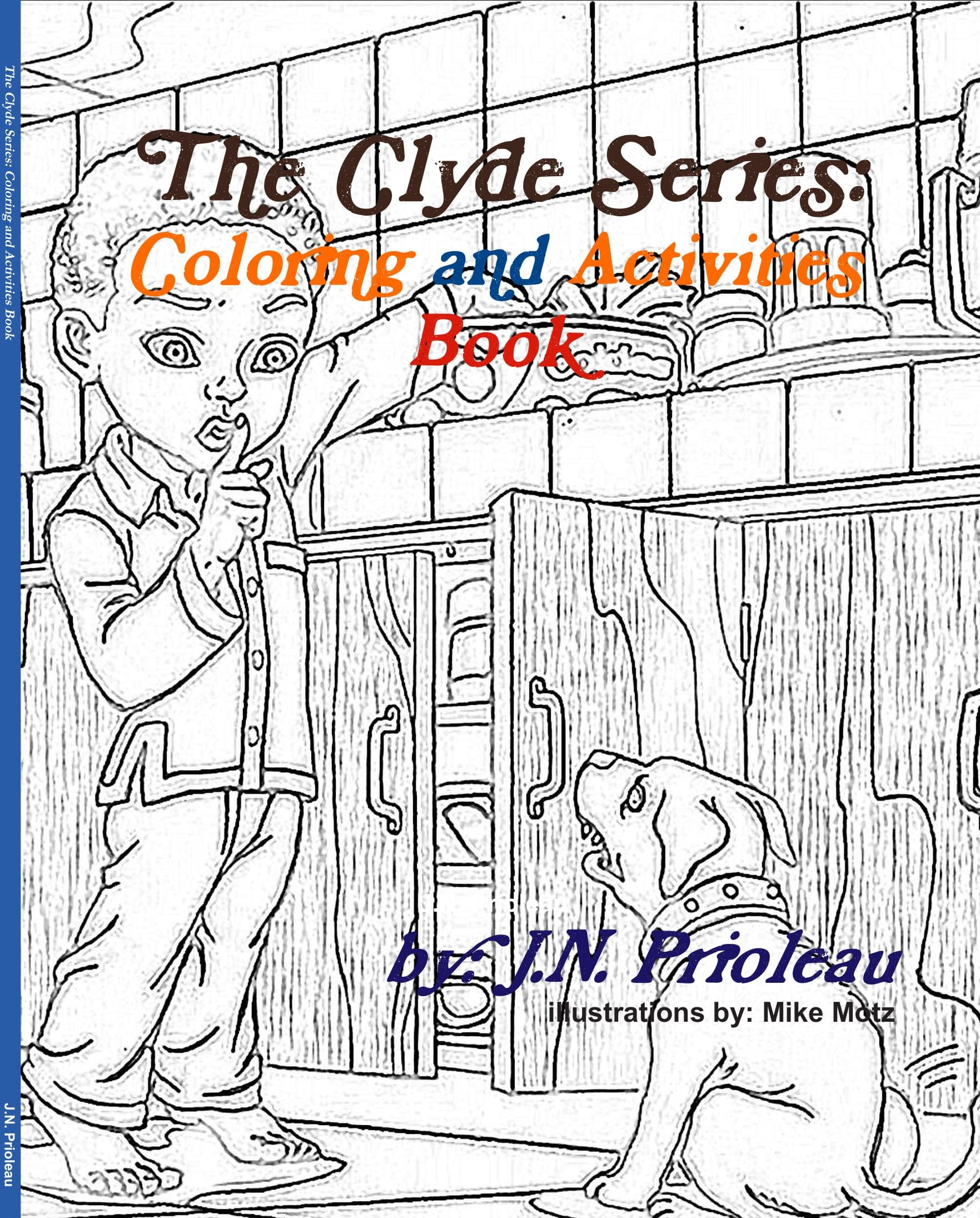 The Clyde Series: Coloring and Activities Book