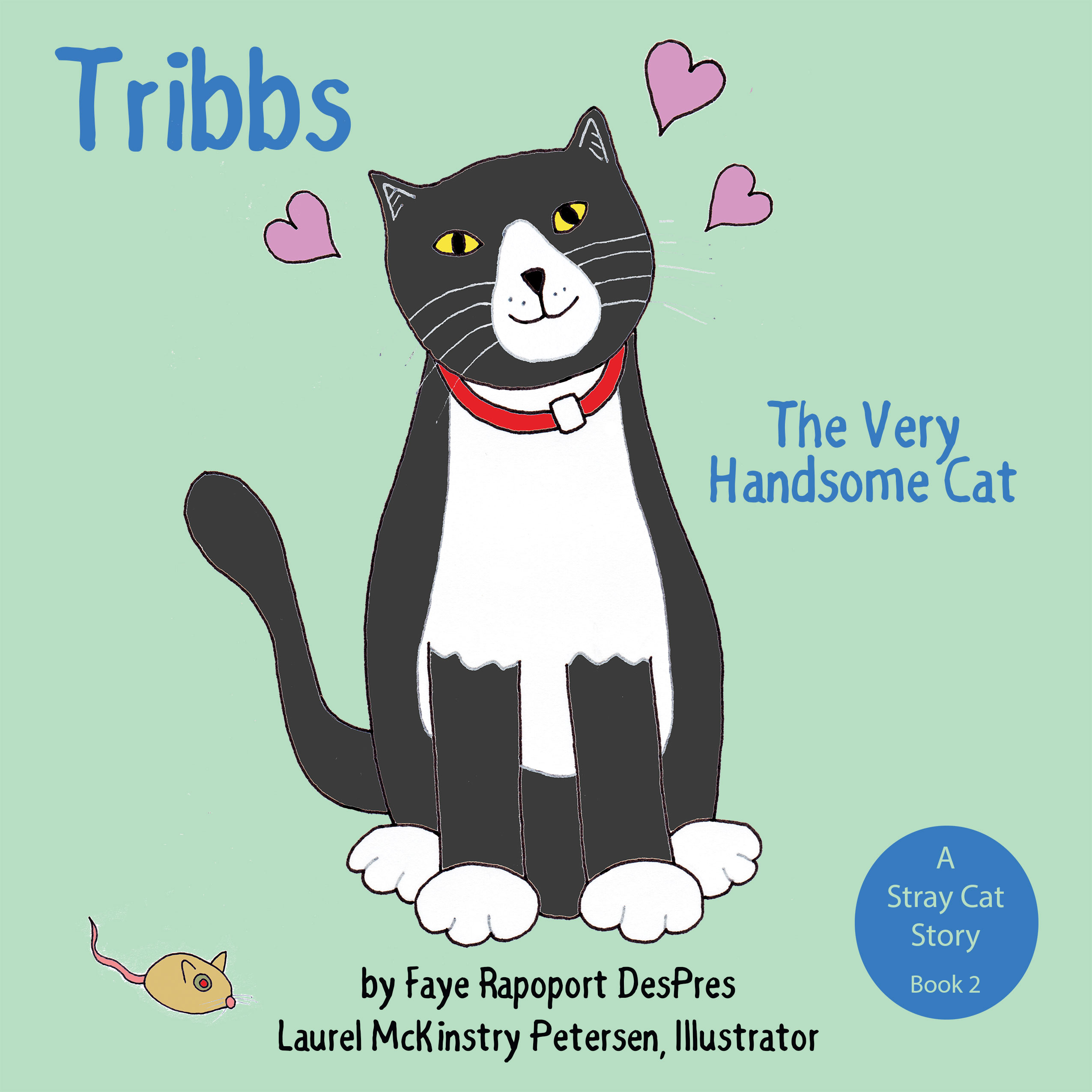 A Handsome Stray Cat Takes Center Stage with His Book Launch on National Love Your Pet Day