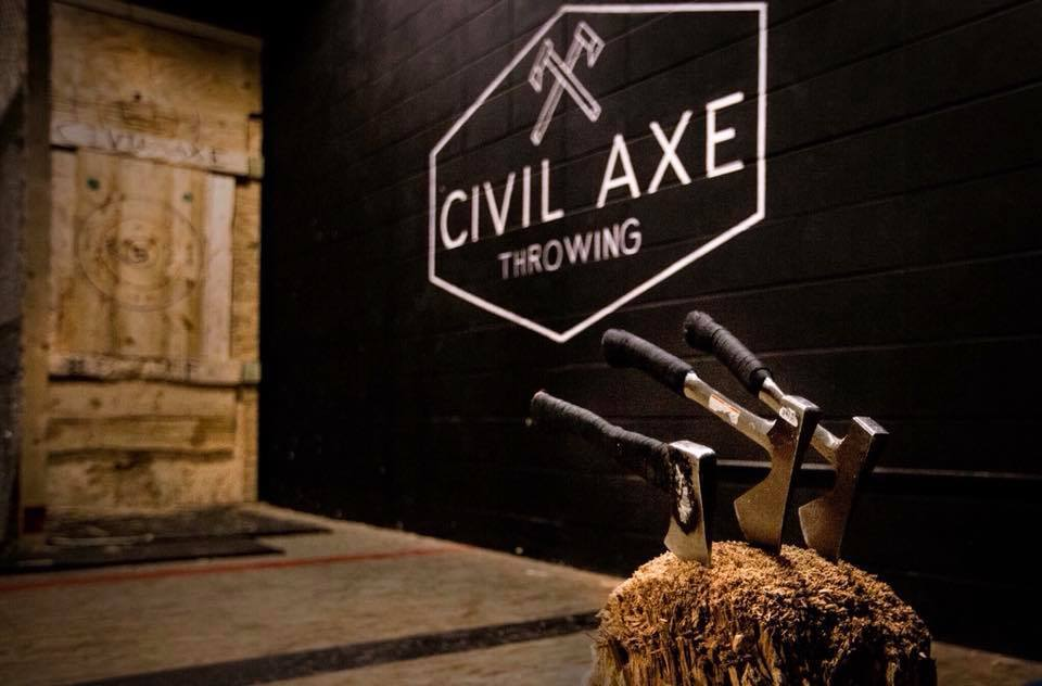 Civil Axe Throwing to Open in Tampa, Florida