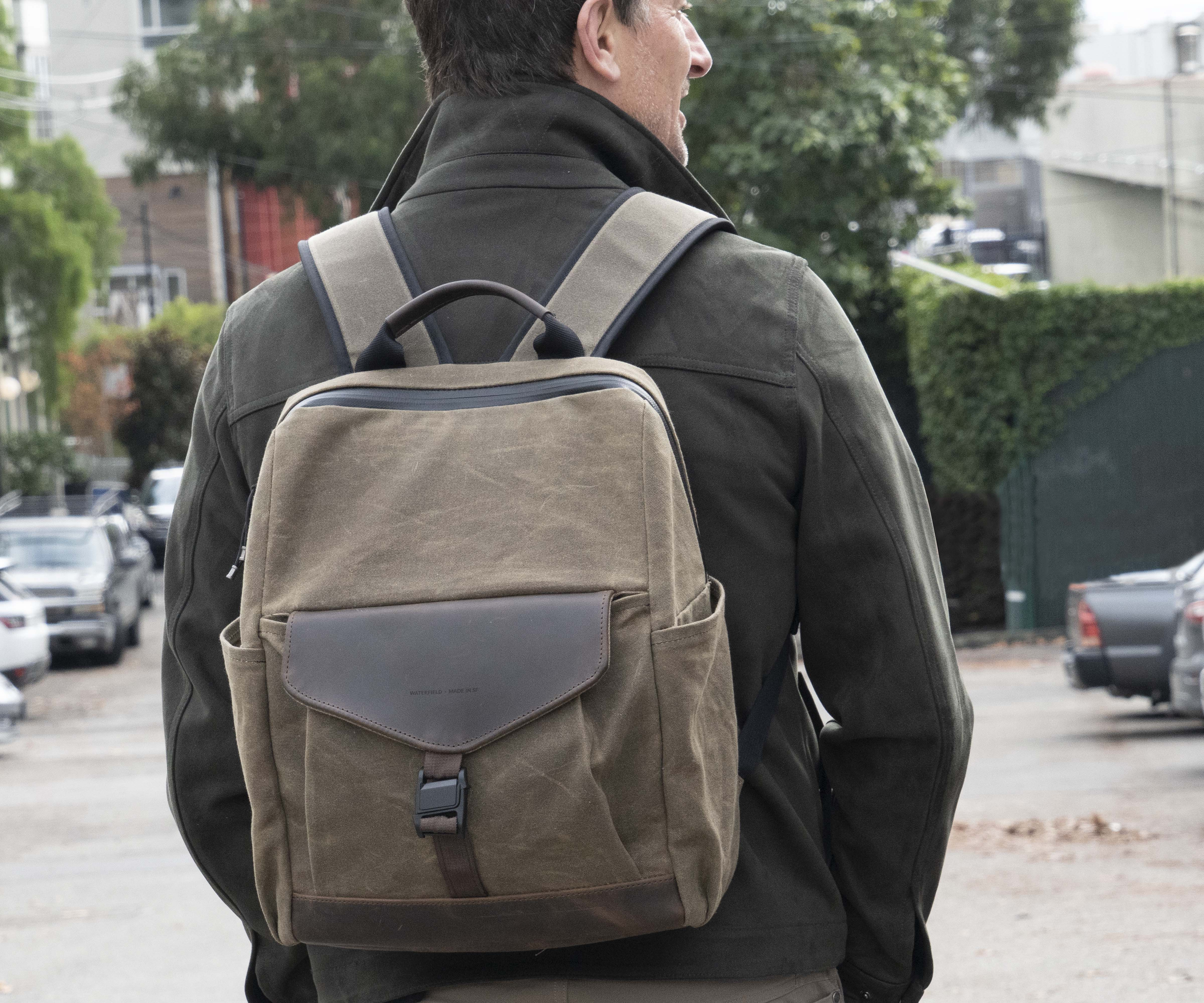 WaterField Pre-Launches Mezzo Backpack with Buckle Choice and Complimentary Pouch