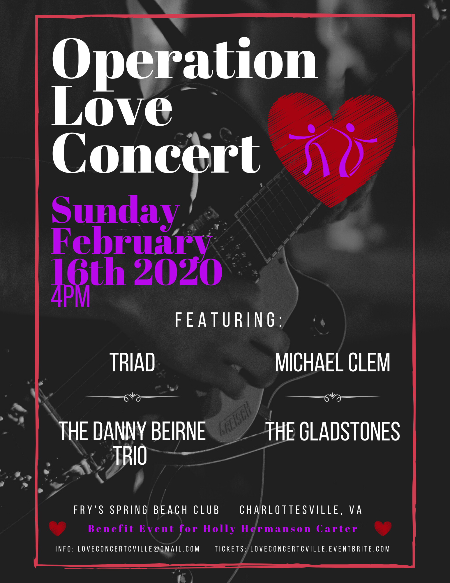 Operation Love Concert Presented by Annese Events