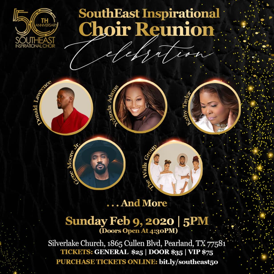 Houston's World-Renowned Gospel Choir Hosts Star-Studded 50th Anniversary Celebration