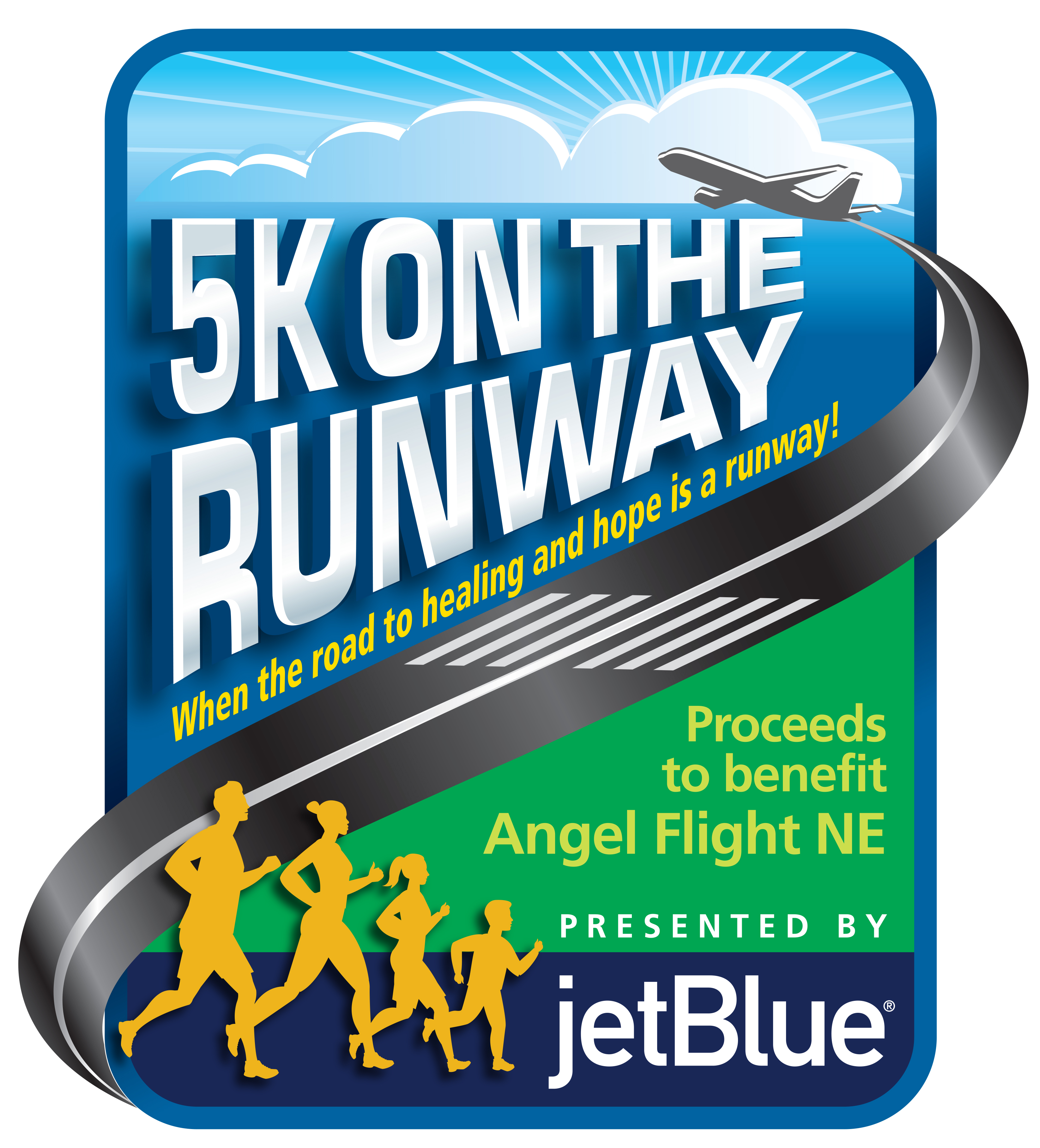 Angel Flight NE Holding First Annual 5K on the Runway Presented by JetBlue at Logan International Airport Boston on May 3