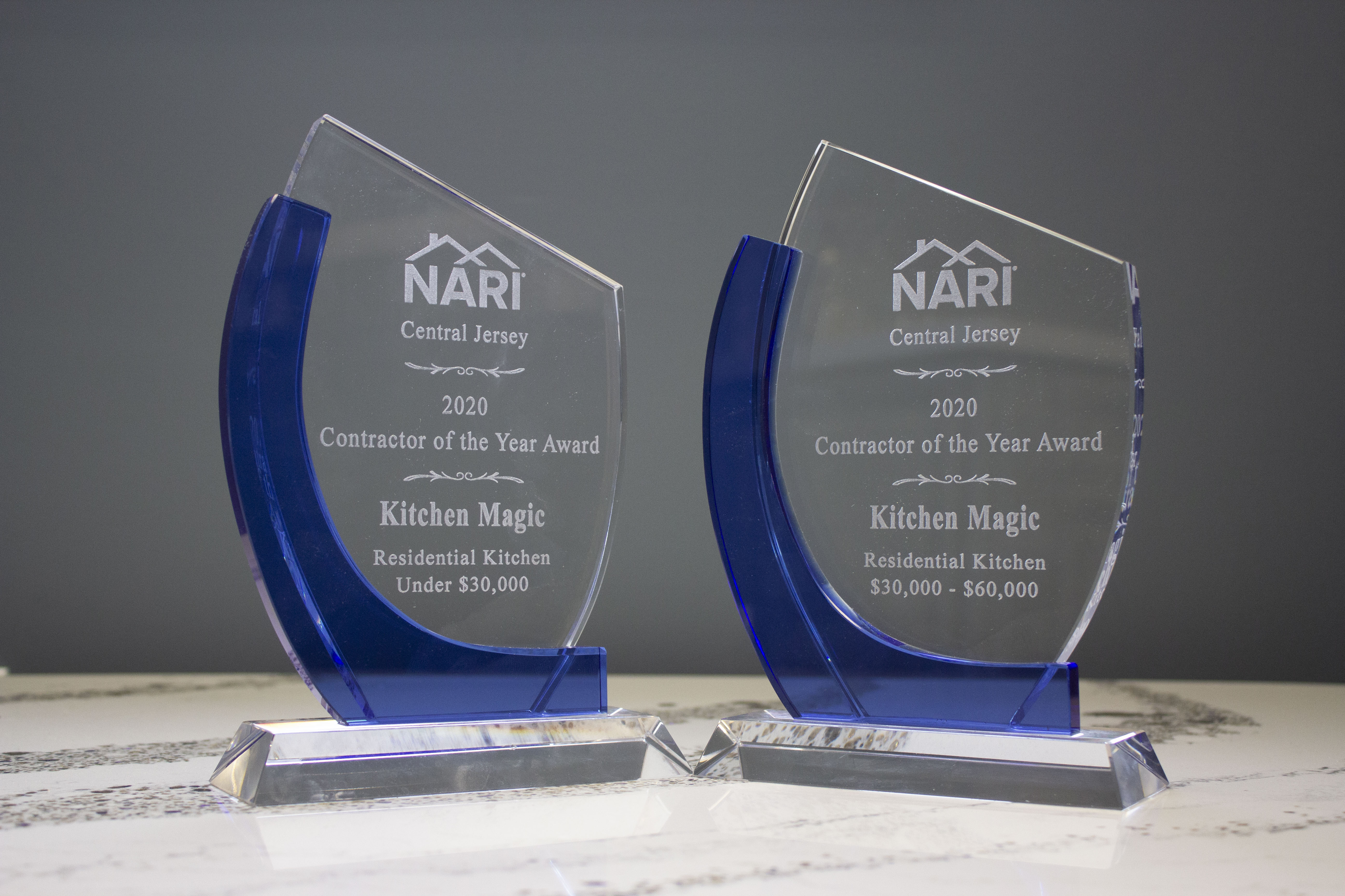 Kitchen Magic Recognized at NARI Awards for Exceptional Work on Two Remodeling Projects