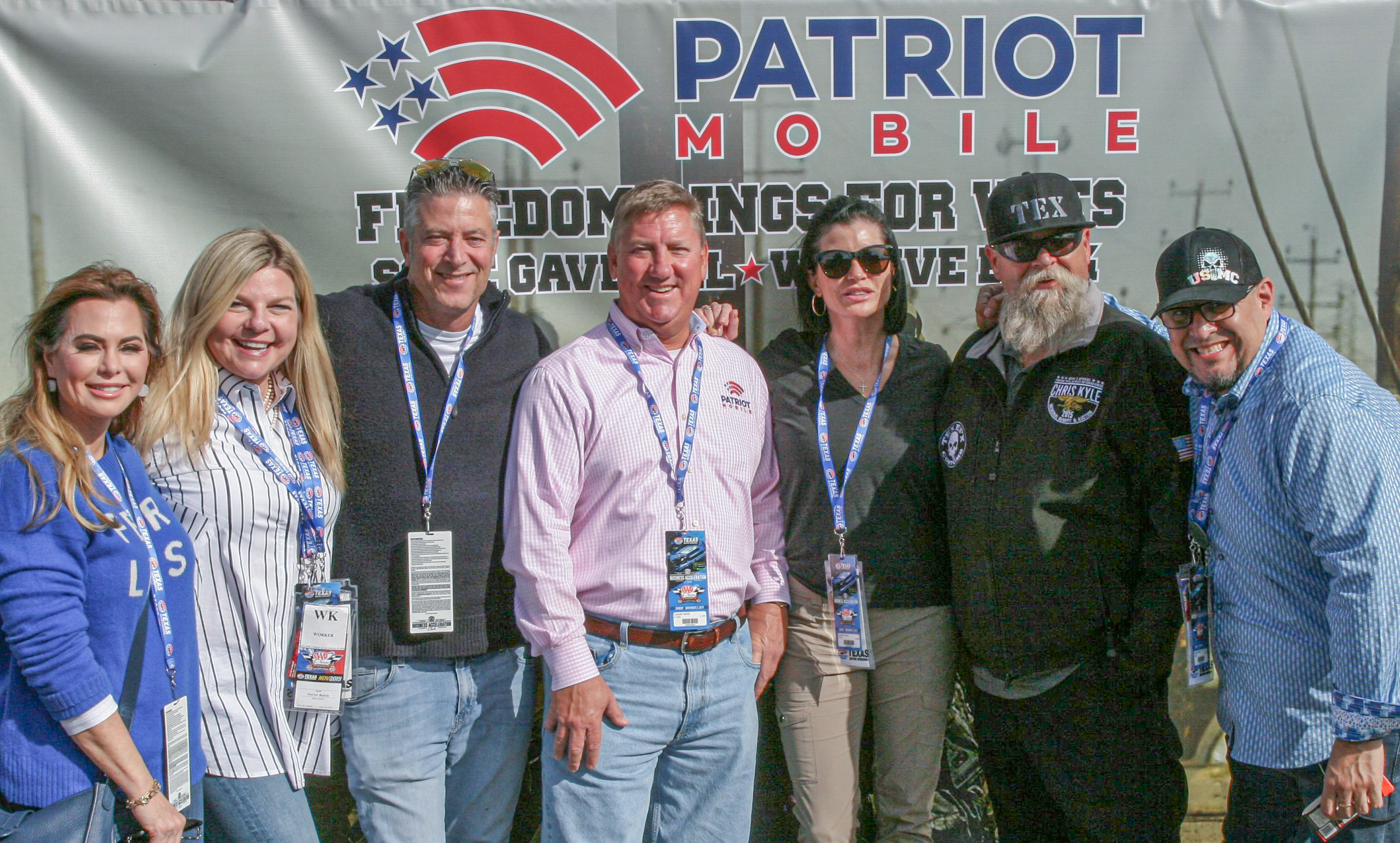 Patriot Mobile Revs Up Support of Veterans at NASCAR Race