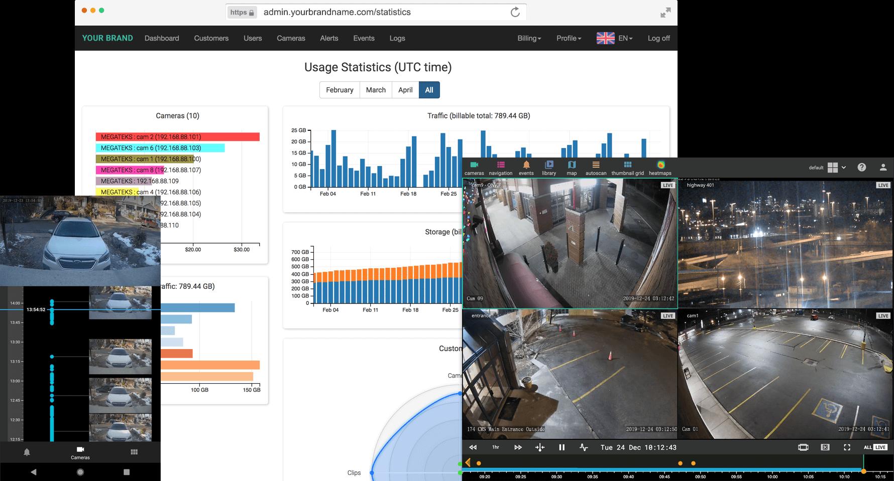 3dEYE Cloud Video Platform Integrates with VIVOTEK Network Cameras to Produce a Reliable Plug & Play Solution