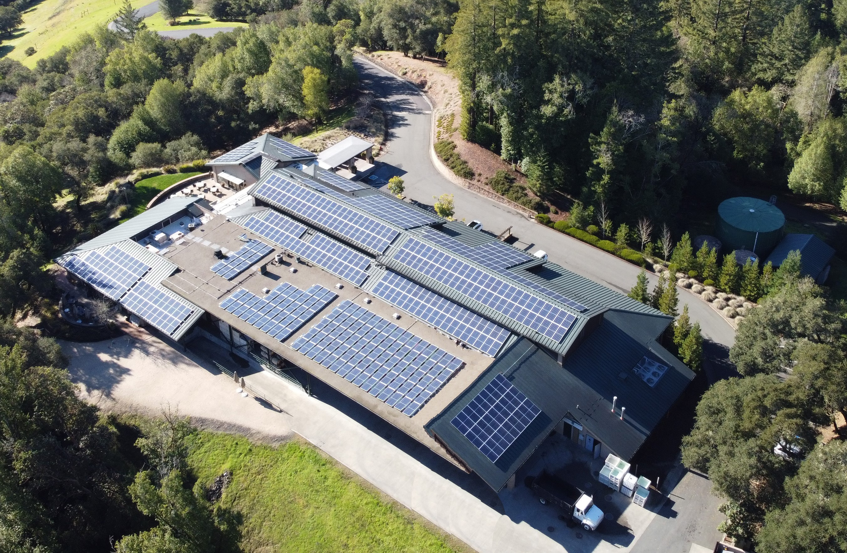 SolarCraft Completes Solar Power  Installation at Gary Farrell Vineyards & Winery - Celebrated Healdsburg Winery Toasts Energy Savings