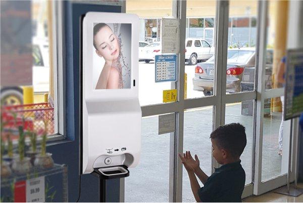 NoviSign Digital Signage Releases New Hand Sanitizer Kiosks to Combat Coronavirus