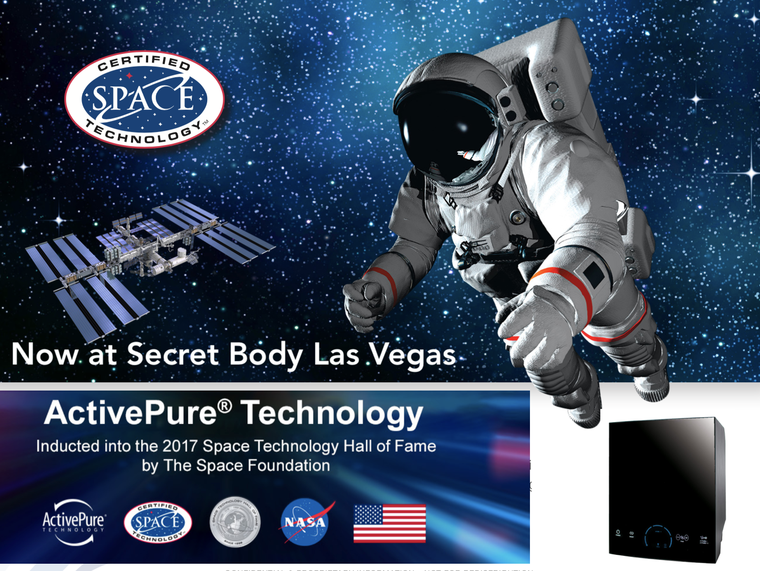 America's Top Coolsculpting Clinic in Las Vegas Secret Body Medical Spa, Now Offers Virus & Bacteria Free Air with Vollara's ActivePure Technology
