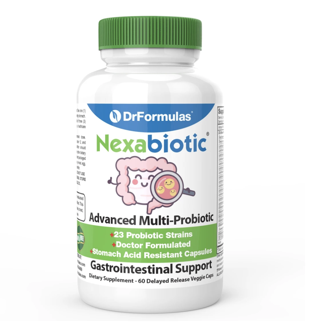 DrFormulas® Introduces a Maltodextrin-Free Probiotic Designed to Minimize Potential Side Effects