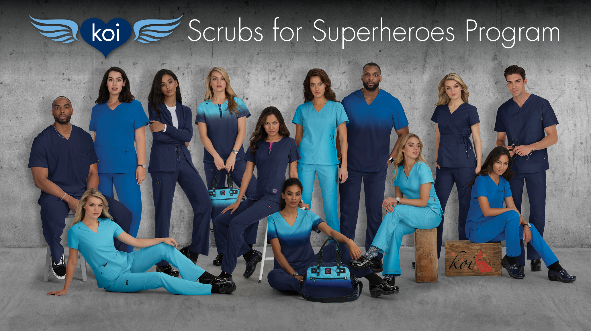 koi's Scrubs for Superheroes Program to Donate $250,000 in Scrubs to Hospitals and Nursing Homes Serving at the Frontlines of the COVID-19 Pandemic