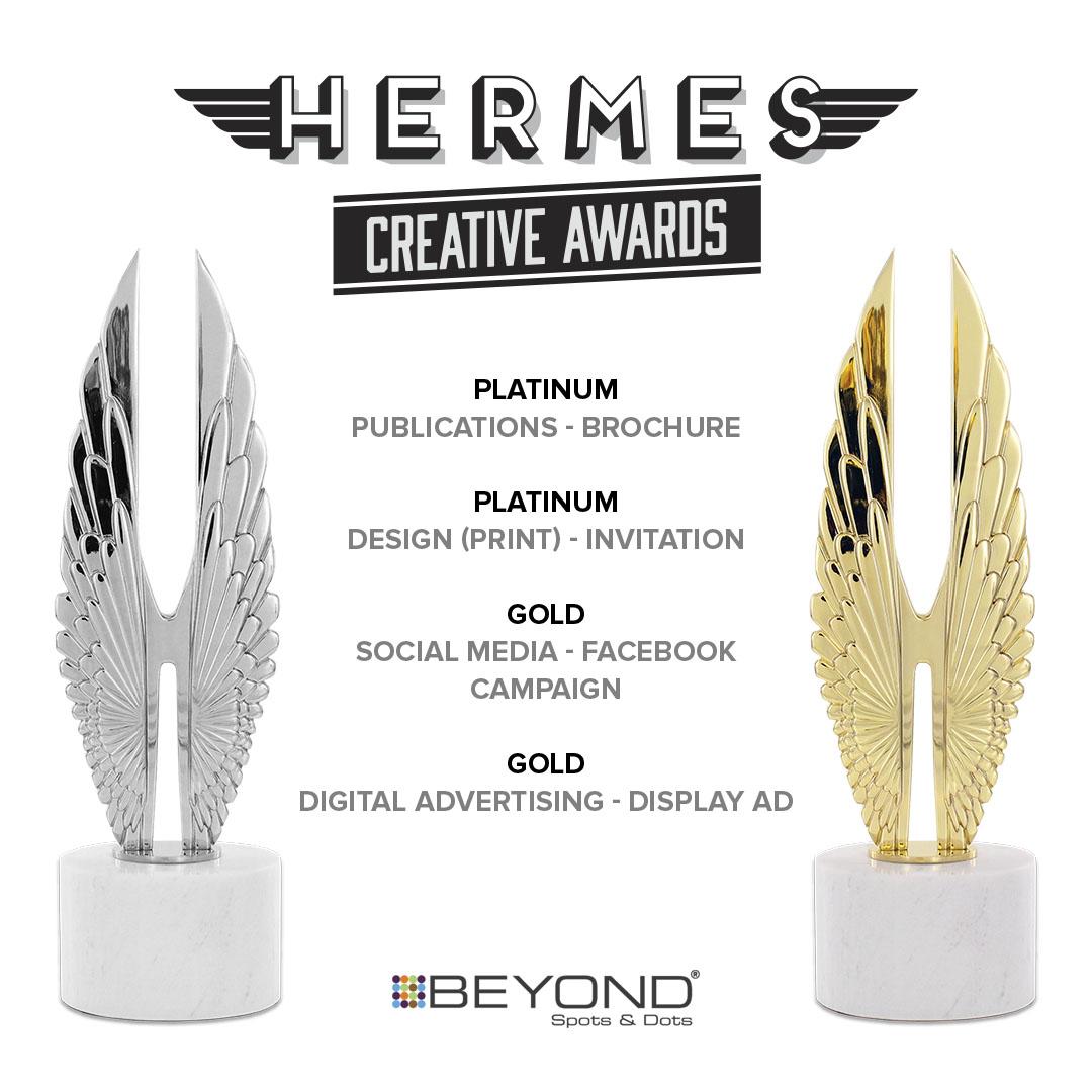 Beyond Spots & Dots Wins Four Hermes Creative Awards