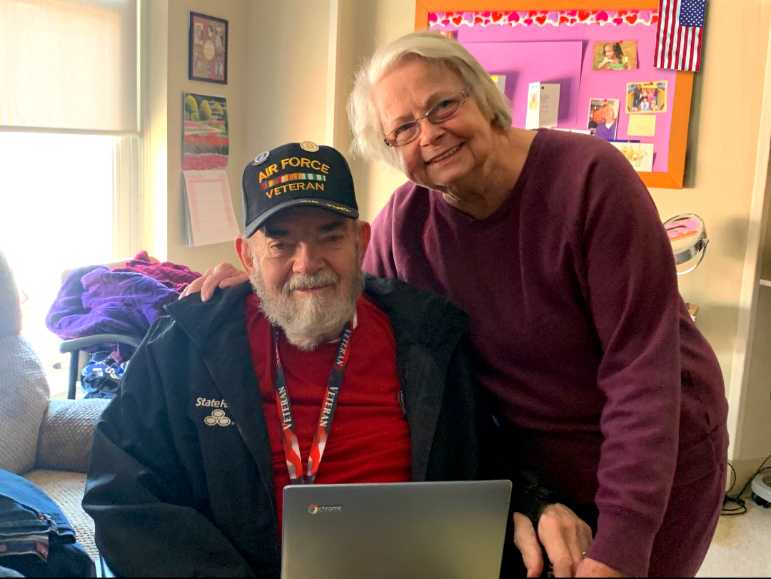 COPS Monitoring Donates Laptops to Help Reunite Quarantined Veterans with Their Families & Loved Ones