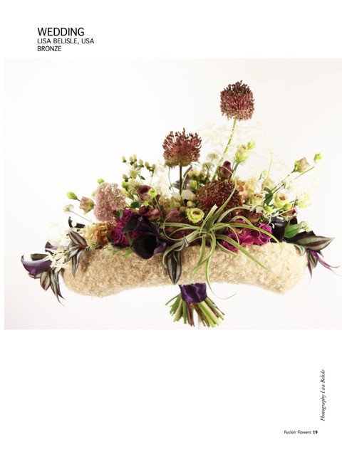 Fusion Flowers Announces International Designers of the Year for 2019 Including Lisa Belisle AIFD