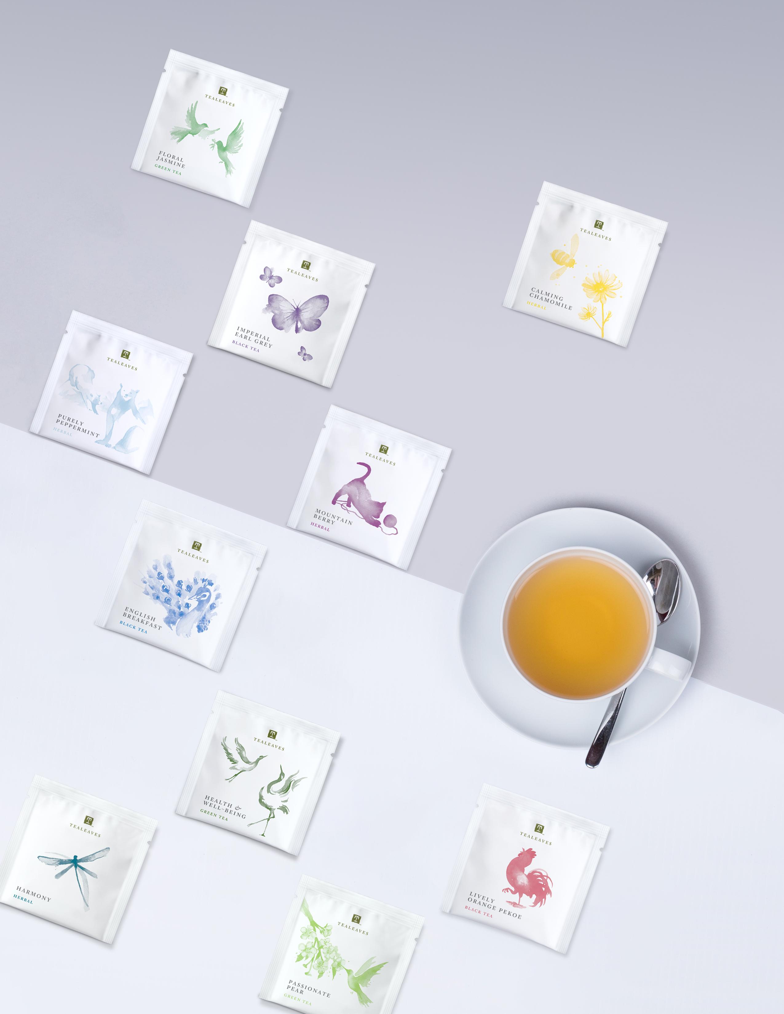 TEALEAVES, Luxury Tea Purveyor, Announces Fully Compostable Tea Bag Line for Earth Day